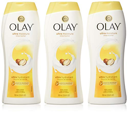 Olay Ultra Moisture Body Wash 23.6 Fluid Ounce,3 Pack in single box