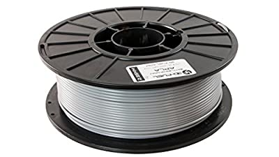 3D Fuel Pro PLA High Heat Professional 3D Filament Made in USA (Industrial Gray, 2.85mm 1Kg)