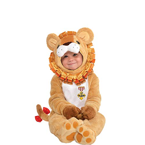 Suit Yourself Cowardly Lion Halloween Costume for Babies, The Wizard of Oz, 6-12 M, Includes Accessories
