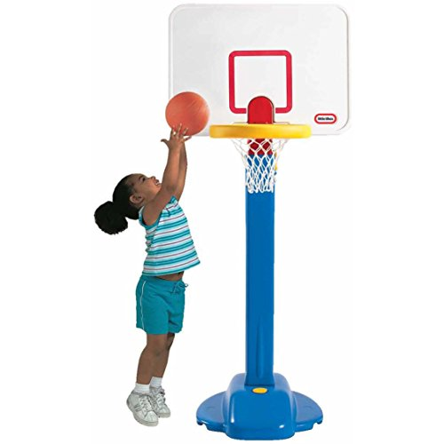 Kids' Pro Jam Adjustable Heights Indoor Outdoor Basketball Hoop Set