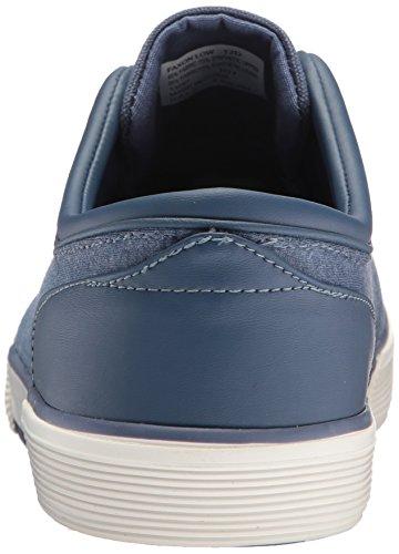 Polo Ralph Lauren Mens Faxon Low-canvas / Jrsy Hthr Sneaker Blu