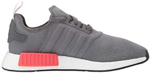 adidas Originals Men's NMD_R1 Running Shoe, Grey/Shock red, 4 M US by adidas Originals (Image #7)