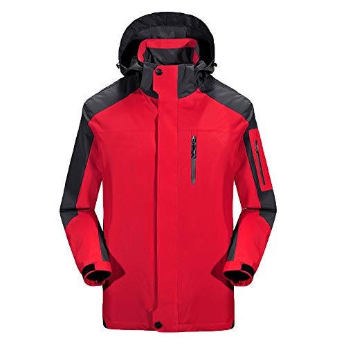 Vêtements À Veste Montagne De Épaissie Coupe Femmes Red Pocket Manteaux Travail L'eau vent Sport Zipper Capuche Pour Imperméable xHHXBfwtq