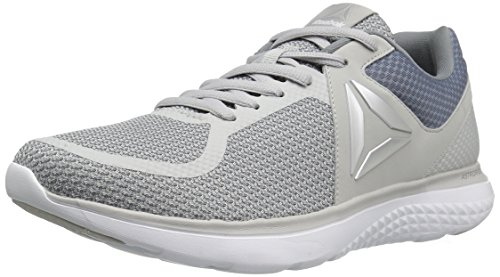Reebok Men's Astroride Run MT Shoe, Asteroid Dust/Skull Grey/Metallic Silver/White/Bottle Green, 10 M US ()