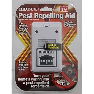 Riddex Plus Pest Repellent Repelling Aid Rodent Roaches Repeller