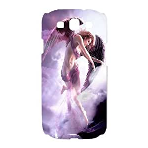 SamSung Galaxy S3 9300 phone cases White Fantasy Angel fashion cell phone cases UTRE3336385