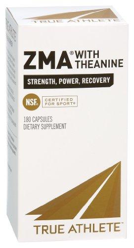Véritable athlète - Zma Avec théanine, 180 capsules