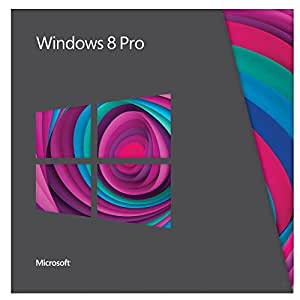 Microsoft Windows 8 Pro - Upgrade from Windows XP, Windows Vista or Windows 7, French