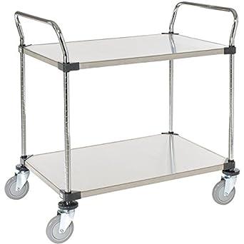 Amazon.com: nexel 2436p2ss Utility Cart longitud de dos ...