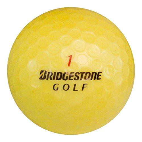 120 Bridgestone Tour B330-RX Yellow - Near Mint (AAAA) Grade - Recycled (Used) Golf Balls