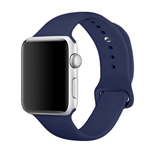 Yimzen Soft Silicone Sport iWatch Band Strap for Apple Watch Series 3...