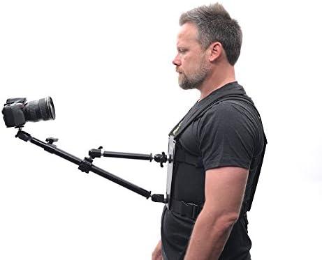Glide Gear SNC100 Video Camera Snorricam 3rd Person DSLR Vest