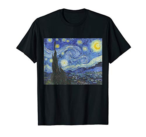 (The Starry Night by Vincent Van Gogh | Famous Painting Shirt)