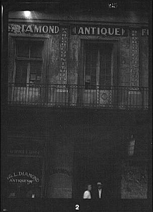 Photo: Facade,Diamond antique store,streets,New Orleans,Louisiana,LA,Arnold - Indian Orleans Store New