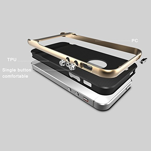 Phone Taschen & Schalen Rock Royce Serie für iPhone 6 Plus & 6s Plus Business Style TPU + PC Schutzhülle ( SKU : IP6L2001J )