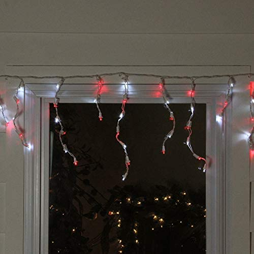 Holiday Tme Set of 225 LED M5 Red Roll Crystal Christmas Lights 58 ft