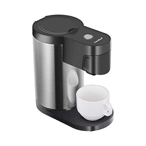COMFEE' Single Serve Coffee Maker Brewers, One Cup Coffee Mechine Most Single Cup Pods including Pods