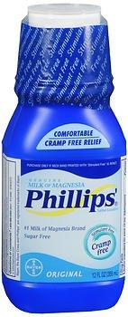 - Milk Of Mag Reg Size 12z Phillips Milk Of Magnesia Laxative & Antacid In Original Flavor