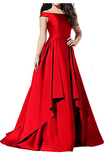 Ivydressing -  Vestito  - linea ad a - Donna Rot 40