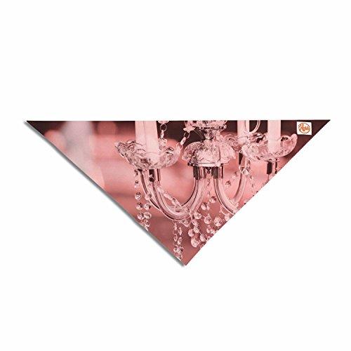 KESS InHouse SC2231APB02 Suzanne Carter Pink Red Digital Pink Chandelier Pet Bandana, 23