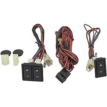 Universal Power Window Switch Kit Rocker Design with Bezels, Switch on