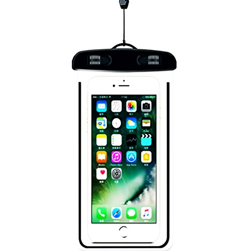 Universal Waterproof Case, iEugen IPX8 Waterproof Phone Pouch Dry Bag for iPhone X/8/8plus/7/7plus/6s/6/6s plus Samsung galaxy s8/s7 Google Pixel HTC10 up to 5.7