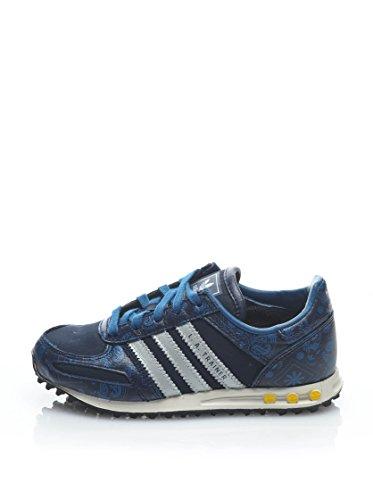 adidas , Baskets pour garçon bleu bleu 28