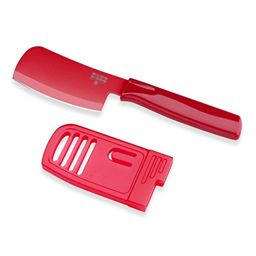 Kuhn Rikon Mini Prep Knife, Red