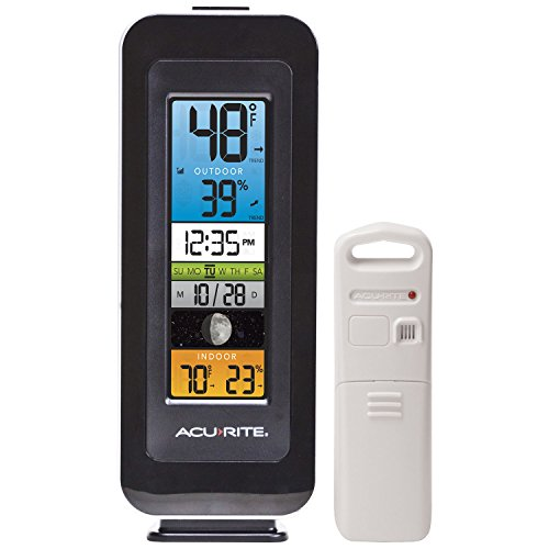 AcuRite 00384RM Temperature Humidity Intelli Time