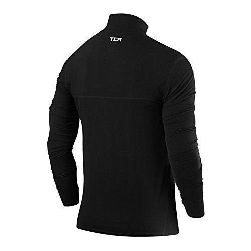 Men's TCA Fusion Pro QuickDry Long Sleeve Half Zip Running Top