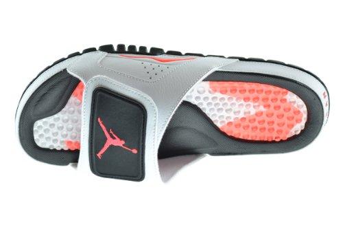 brand new 6c7cd 42849 Jordan Hydro VI Retro Men s Slides White Infrared 23-Black 630752-120 (12  D(M) US)