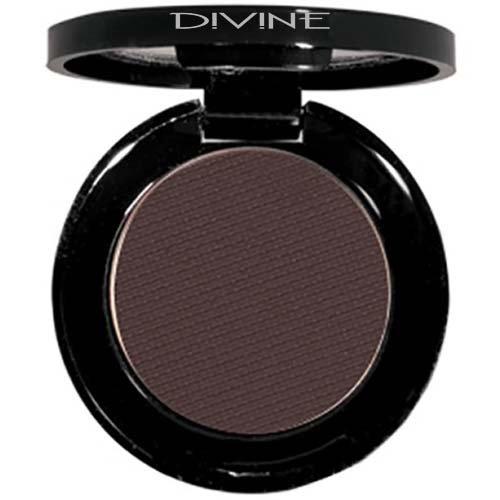 Divine Skin & Cosmetics – Luxurious, BOLD effect Matte Eyeshadows – Truffle
