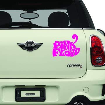 Pink Floyd Pink Bands Automotive Decal//Bumper Sticker