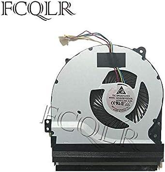 FCQLR Ordenador portátil CPU Ventilador para ASUS R510C R510CA R510CC R510E R501EA 13NB00W1AM010 K550C K550CA K550CC K550J K550JD K550JK K550L K550LA K550LB CPU enfriamiento Ventilador: Amazon.es: Electrónica