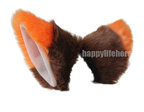 Cat Fox Ears Kitty Costume Halloween Cosplay Fancy