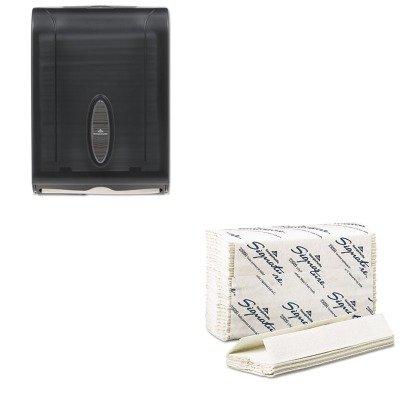 kitgep23000gep5665001 – Valueキット – Georgia Pacific c-fold Paper Towels ( gep23000 )とGP 566 – 50 / 01半透明Smoke Combination c-foldまたはMultifold紙タオルディスペンサー( gep5665001 ) B00MOQB0GG