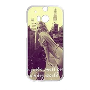 SANLSI Marilyn Monroe 4 Days In New York Cell Phone Case for HTC One M8 BY icecream design