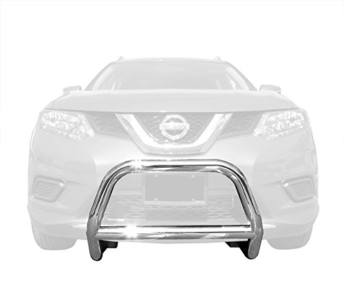 Brush Guard Brackets (MaxMate Premium Custom Fits 14-15 Nissan Rogue (Excl.2014 Nissan Rogue Select) 2.5'' Stainless Steel Bull Bar Bumper Brush Guard (with Mounting Bracket Hardware Kit))
