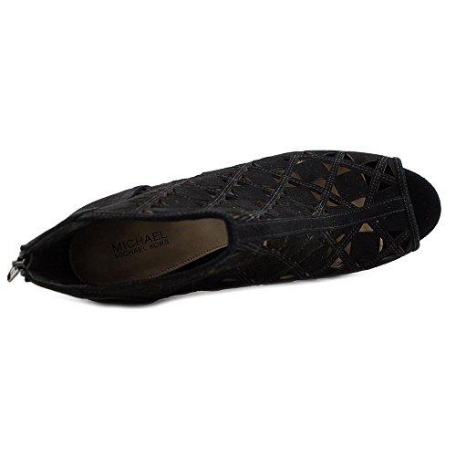 MICHAEL Michael Kors Women's Ivy Bootie Black Kid Suede 8.5 M