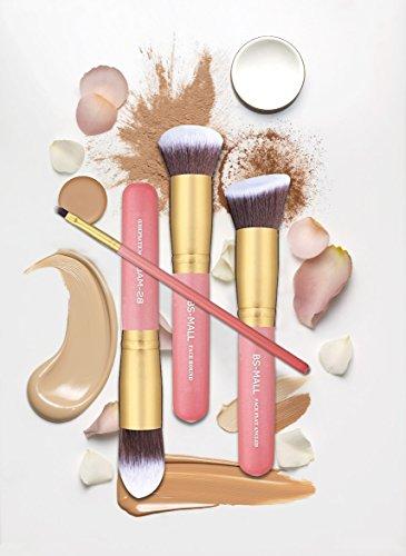 afbf98cb3498 BS-MALL New 14 Pcs Makeup Brushes Premium Synthetic Kabuki Makeup Brush Set  Cosmetics Foundation Blending Blush Eyeliner Face Powder Brush Makeup ...