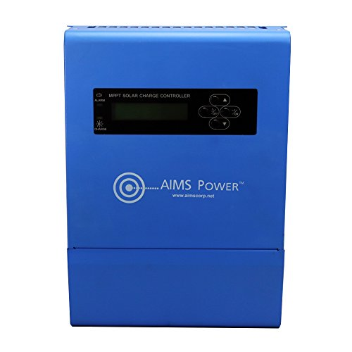Aims Power SCC40AMPPT, 40 Amp Solar Charge Controller 12/24/36/48V