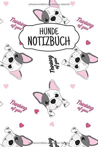 Hunde Notizbuch Liniertes Notizbuch Ca A5 Für Notizen
