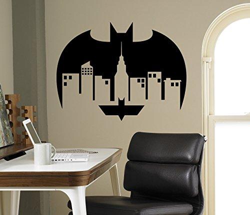 Gotham City Wall Decal Sticker Vinyl Batman Superhero