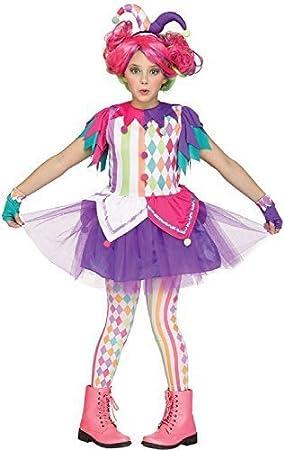 Fancy Me Niño Niña Adolescentes Brillante Bufón Payaso Circo ...