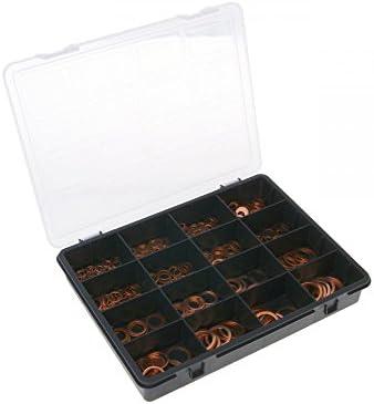 Dichtring Sortiment Kupfer (400 Stück sortiert)