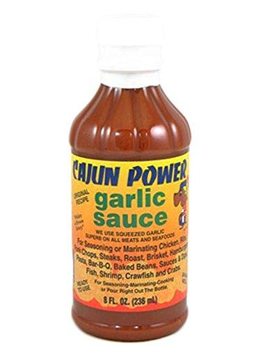 Cajun Power Garlic Sauce 8oz (Pack of 3)