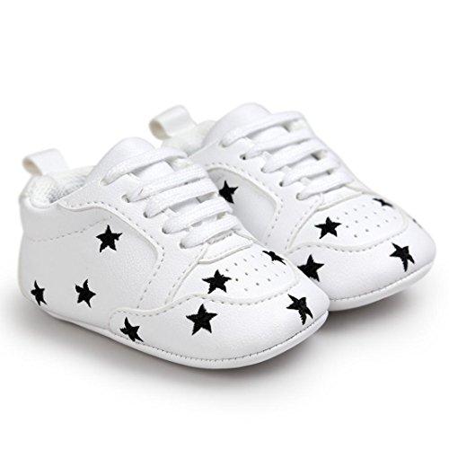 Zapatos de bebé, Switchali zapatos bebe niña primeros pasos verano Recién nacido Niñas Cuna Suela blanda Antideslizante Zapatillas niño vestir casual Calzado de deportes Negro