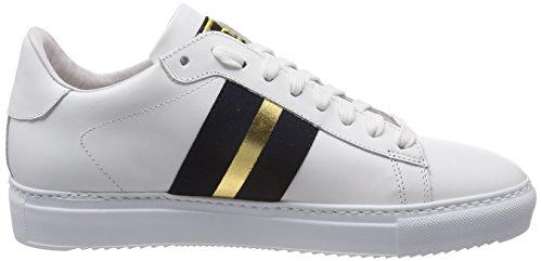 da Donna Navy Ginnastica Basse Sneaker Gold Scarpe White Multicolore Stokton qS7wTEFWxW