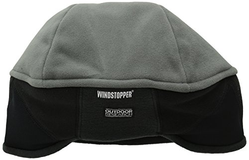 (Outdoor Research Wind Warrior Hat, Charcoal/Black, Large/X-Large)