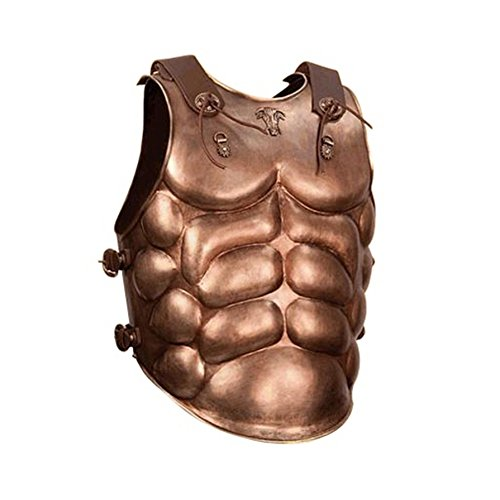 [Roman Commander Cuirass Armor Breastplate - Julius Caesar Emperor Armor] (Roman Emperor Costume Accessories)